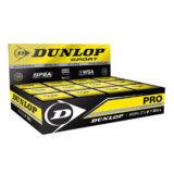 Мячи для сквоша Dunlop Pro Squash (коробка 12 мячей) — дата поставки уточняется