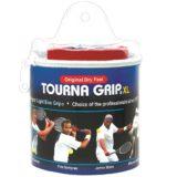 Намотки для тенниса, сквоша, бадминтона Tourna Grip XL Blue (30 намоток) — в продаже 18.01.20
