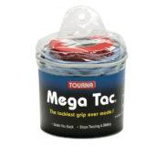 Намотки для тенниса, сквоша, бадминтона Tourna Mega Tac XL Blue (30 намоток)