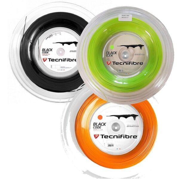 Tecnifibre Black Code 200m Reel - все цвета