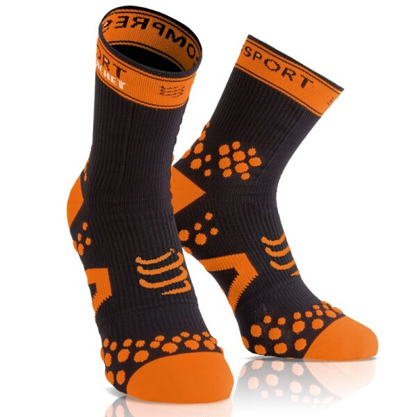 Compressport Racket Strapping Double Layer Socks Black