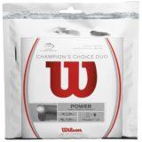 Струны для тенниса Wilson Champions Choice Duo Hybrid 1.25/1.30 (оригинальная упаковка 6,1+6,7м)