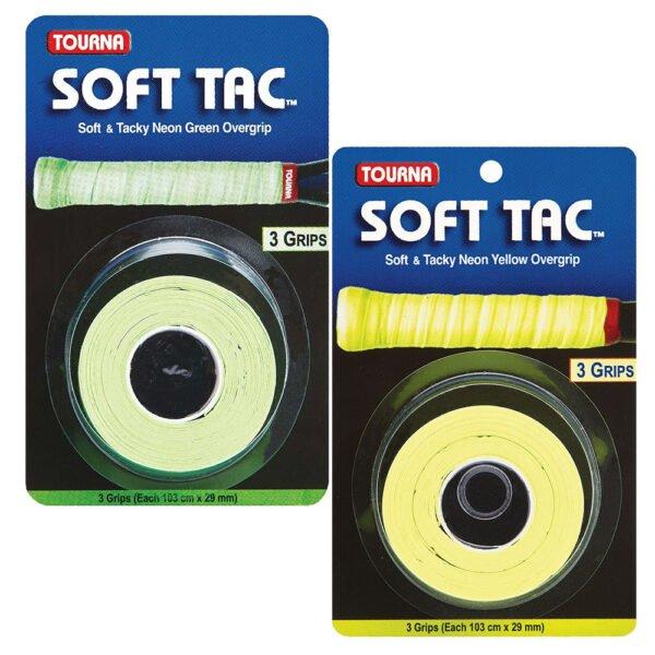 Tourna Soft Tac™ Overgrip Neon Green и Yellow
