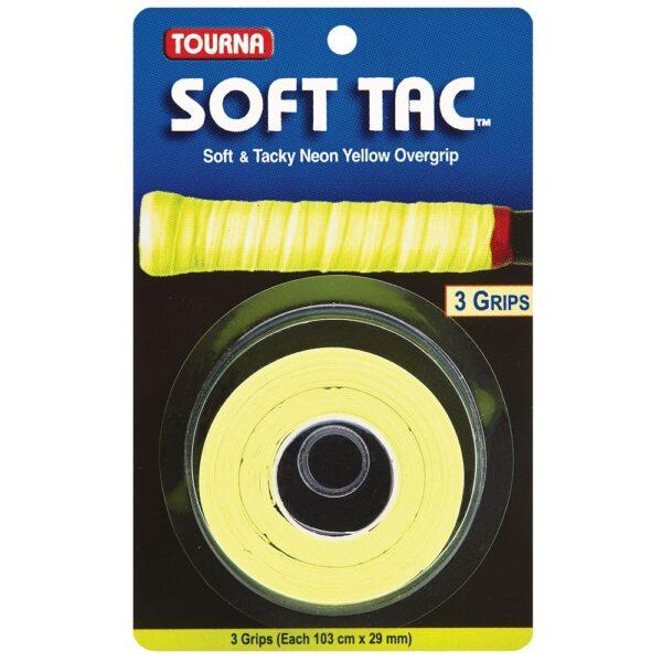 Tourna Soft Tac™ Overgrip Neon Yellow
