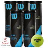 Мячи теннис Wilson TourPremier — 5 банок