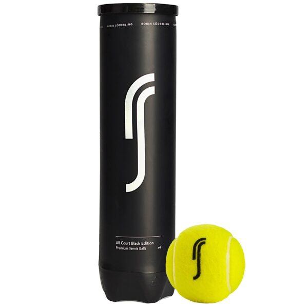 Мячи теннис RS BlackEdition. Мячи Robin Soderling для всех типов покрытий.